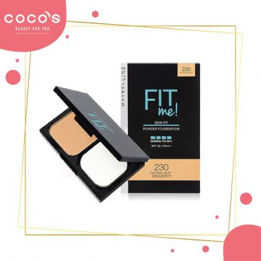 Phấn Nền Siêu Mịn Maybelline Fit Me Skin-Fit Powder Foundation