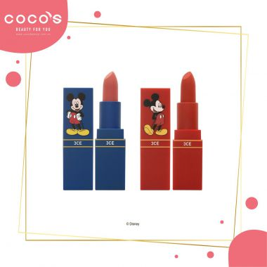 Son 3CE Thỏi Phiên Bản Limited Edition Mickey Mouse